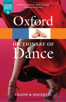 The Oxford Dictionary of Dance, Paperback