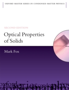 Optical Properties of Solids, Paperback