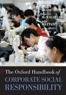 The Oxford Handbook of Corporate Social Responsibility, Paperback