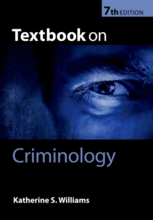 Textbook on Criminology, Paperback Book