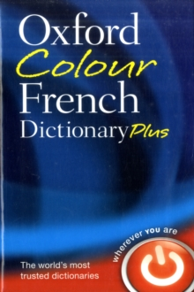 Oxford Colour French Dictionary Plus, Paperback Book