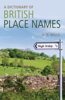 A Dictionary of British Place-names, Paperback