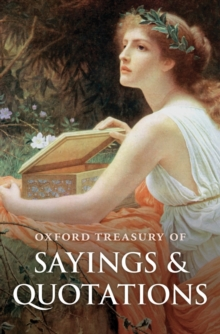 Oxford Treasury of Sayings and Quotations, Hardback