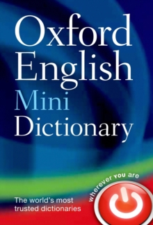 Oxford English Mini Dictionary, Paperback