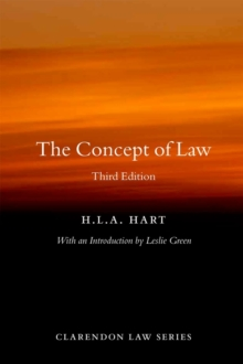 The Concept of Law, Paperback