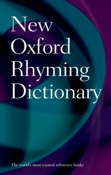 New Oxford Rhyming Dictionary, Hardback Book