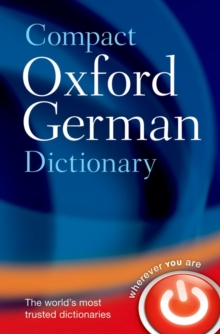 Compact Oxford German Dictionary, Paperback