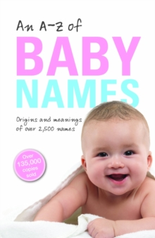 An A-Z of Baby Names, Paperback Book
