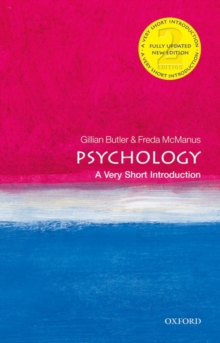 Psychology: A Very Short Introduction, Paperback