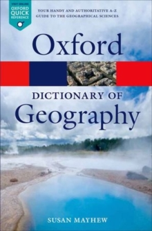 A Dictionary of Geography, Paperback