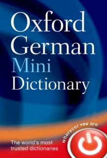 Oxford German Mini Dictionary, Paperback