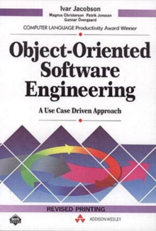 Object-oriented Software Engineering : A Use CASE Approach, Paperback