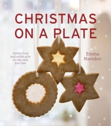 Christmas on a Plate, Hardback Book