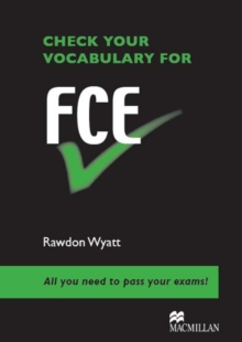 Check Vocabulary for FCE Student Book, Paperback Book