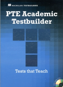 PTE Academic Testbuilder : Student's Book + Audio  Pack, Mixed media product