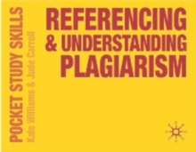 Referencing and Understanding Plagiarism, Paperback
