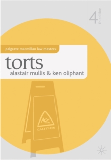 Torts, Paperback Book
