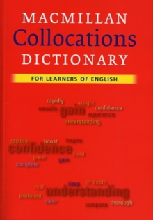Macmillan Collocations Dictionary, Paperback