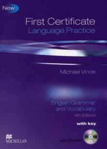 First Certificate Language Practice : Student Book Pack with Key, Mixed media product