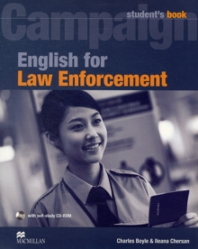 English for Law Enforcement : Student Book with CD-ROM, Mixed media product Book