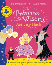 The Princess and the Wizard Activity Book, Paperback