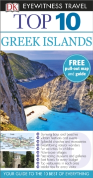 Greek Islands: Eyewitness Top 10 Travel Guide, Paperback Book