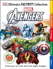 Marvel the Avengers Ultimate Factivity Collection, Paperback Book