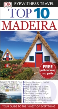 Dk Eyewitness Top 10 Travel Guide: Madeira, Paperback Book