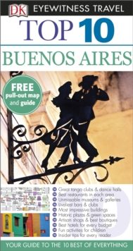 Dk Eyewitness Top 10 Travel Guide: Buenos Aires, Paperback