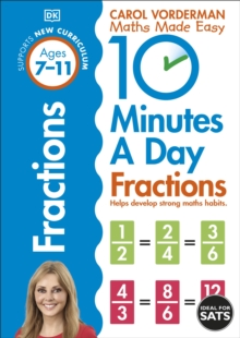 10 Minutes a Day Fractions, Paperback