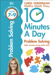 10 Minutes a Day Problem Solving KS2 Ages 7-9 : Ages 7-9, Paperback