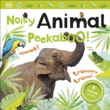 Noisy Animal Peekaboo!, Board book