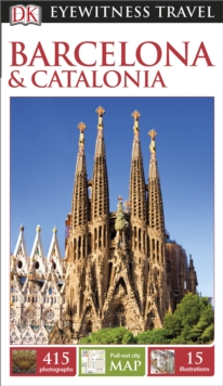 DK Eyewitness Travel Guide: Barcelona & Catalonia, Paperback