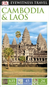 DK Eyewitness Travel Guide: Cambodia & Laos, Paperback