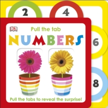 Pull the Tab Numbers, Board book
