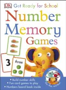 Get Ready for School Number Memory Games, Cards