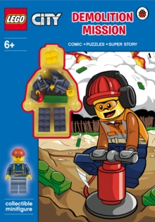Lego City: Demolition Mission Activity Book with Minifigure, Paperback