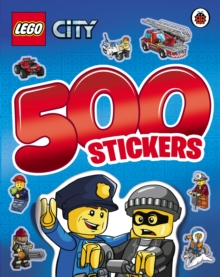 Lego City: 500 Stickers Activity Book, Paperback