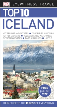 DK Eyewitness Top 10 Travel Guide: Iceland, Paperback