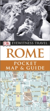 DK Eyewitness Pocket Map and Guide: Rome, Paperback
