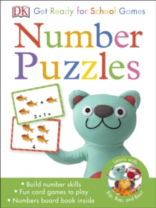 Get Ready for School Number Puzzles Games, Cards