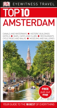 DK Eyewitness Top 10 Travel Guide: Amsterdam, Paperback