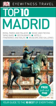 DK Eyewitness Top 10 Travel Guide: Madrid, Paperback