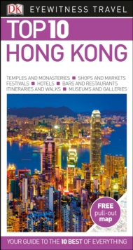 DK Eyewitness Top 10 Travel Guide: Hong Kong, Paperback