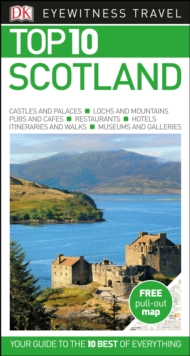 DK Eyewitness Top 10 Travel Guide: Scotland, Paperback