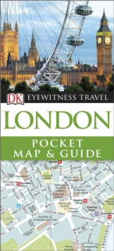 DK Eyewitness Pocket Map and Guide: London, Paperback Book