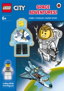LEGO City: Space Adventure Activity Book with Minifigure, Paperback