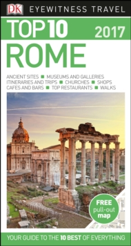 DK Eyewitness Top 10 Travel Guide Rome, Paperback