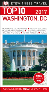 Washington DC: Eyewitness Top 10 Travel Guide, Paperback Book