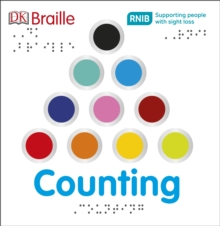 DK Braille: Counting, Board book Book
